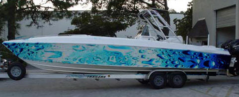 Seattle, WA – Attn: Yacht & Boat Owners – Custom Wraps & Graphics – *Pics Included