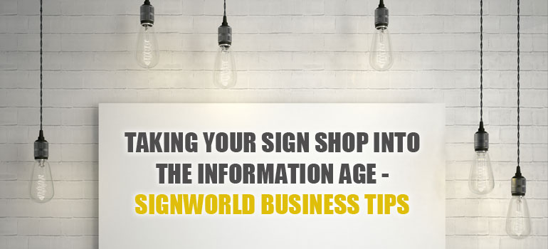 Sign Business Tips