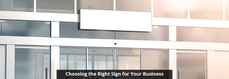 Sign for Your Business