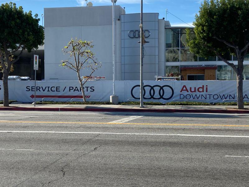 Vinyl or Mesh Banners in Los Angeles CA