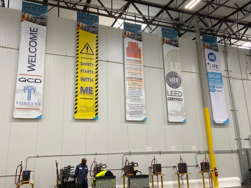 targeted safety banners in Fontana
