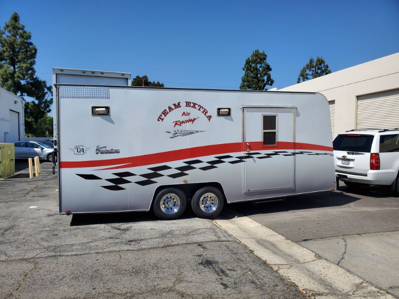 Custom Designed Utility Trailer Graphics in Southern CA