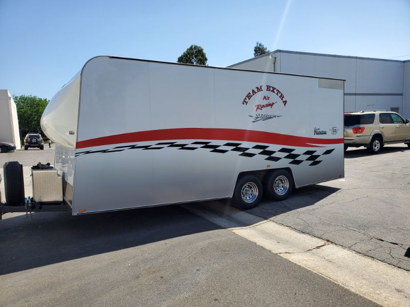Custom Graphics for a Cargo Trailer in Southern CA