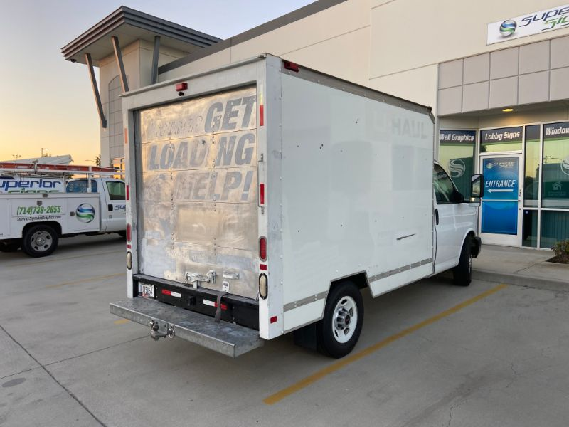 Truck Wraps in Fullerton CA