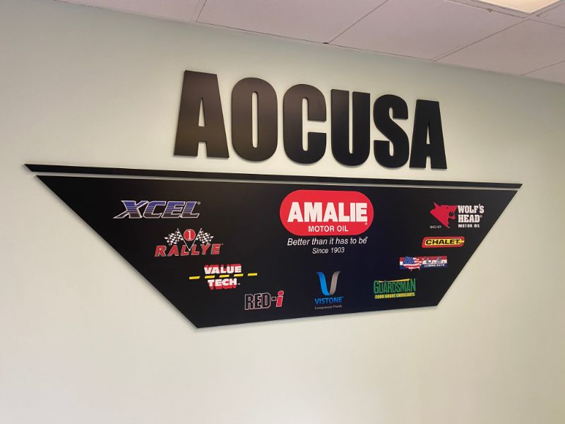 Impactful Lobby Logo Wall Signs for Offices in Los Angeles