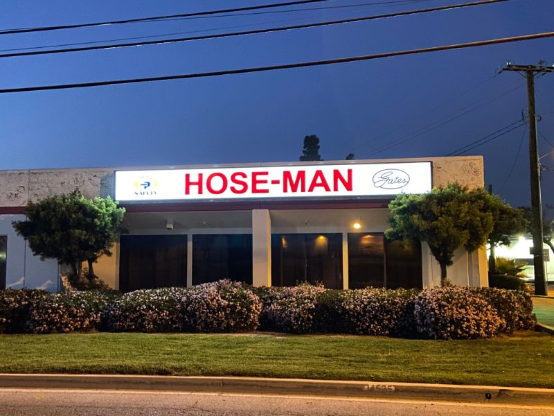 Lighted Building Signs in Orange County CA