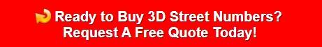 3D street numbers
