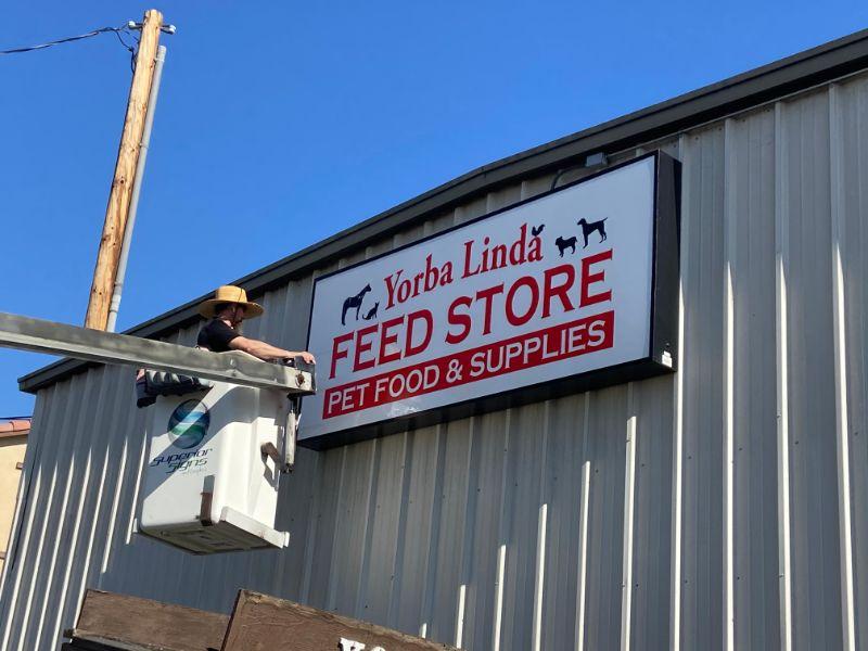 Lighted Building Signs in Yorba Linda CA
