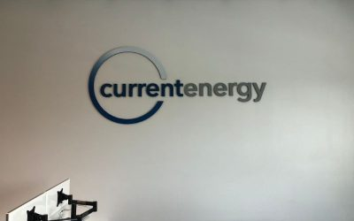 Lobby Logo Sign Brands Los Angeles Energy Company Offices!