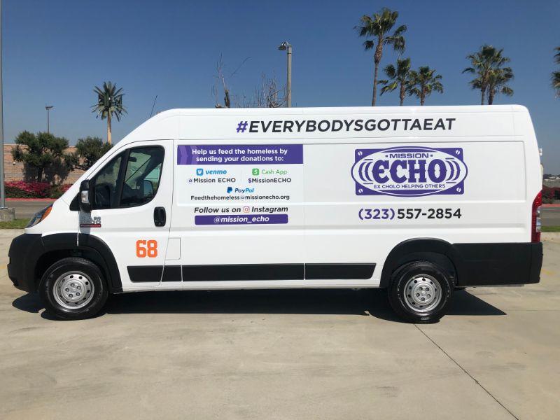Low Cost Sprinter Van Graphics In Anaheim CA