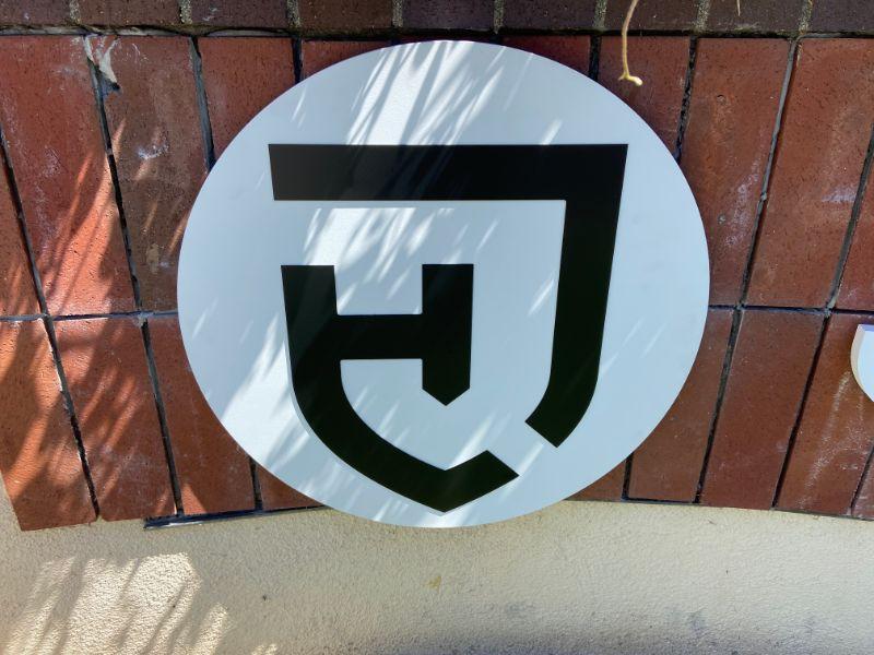 Custom Designed 3D Lettering for Monument Signs in Santa Ana CA