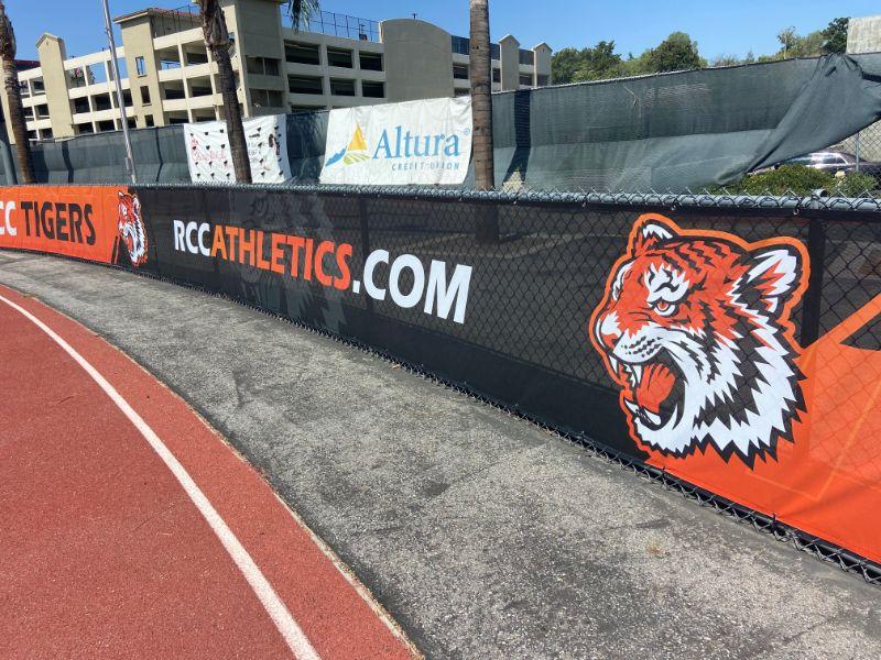 Riverside City College Brands Athletics Stadium with Eye-Catching Graphics