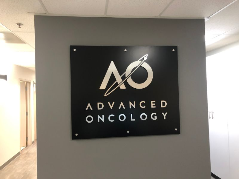 Custom Office Logo Wall Signs for Businesses in Los Angeles CA