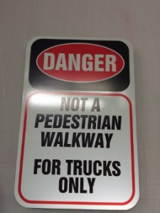 Aluminum Blanks and 3M's Reflective IJ5100 vinyl signs for