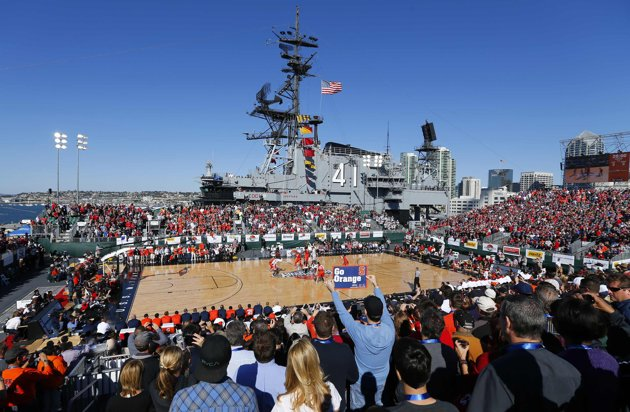 NCAA Battle on The Midway