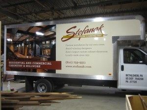 Signworld Owner, Vehicle wrap, bethlehem, PA, Leading Edge Signs