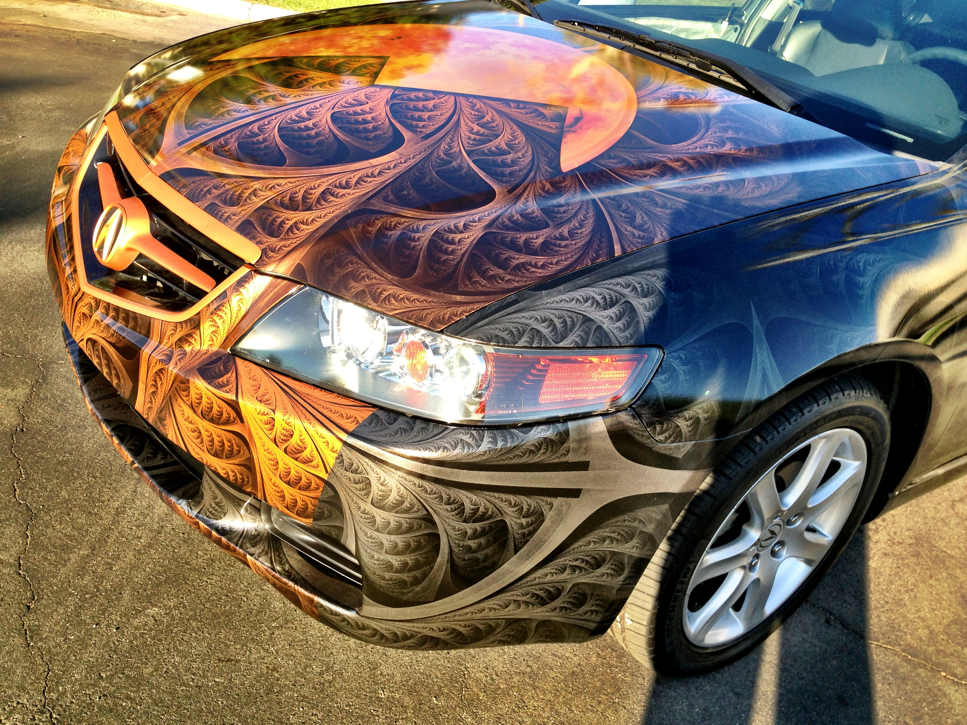 Vehicle Wrap Contest Signworld Skycrest Signs