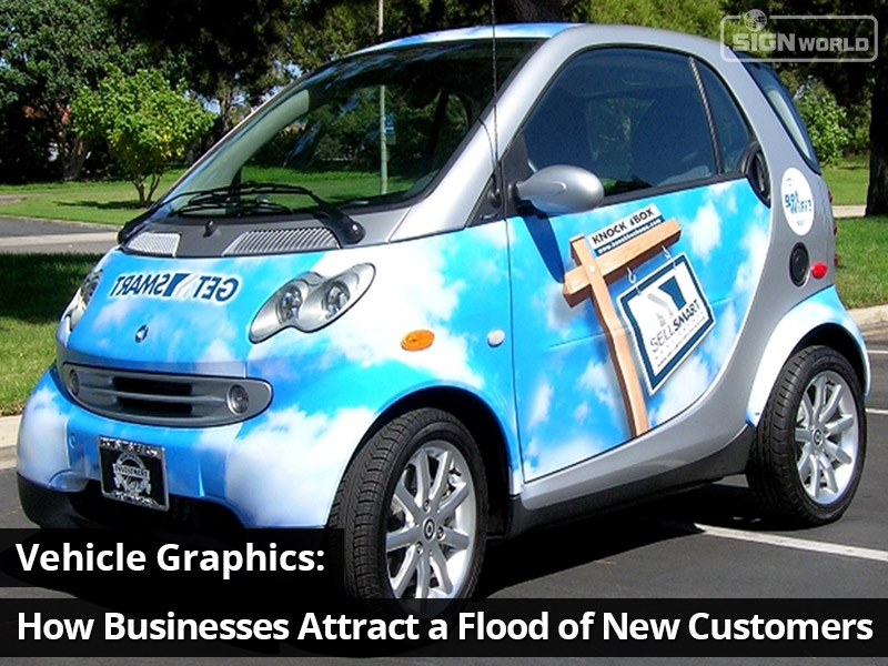Vehicle Graphics Extend a Company's Advertising Reach