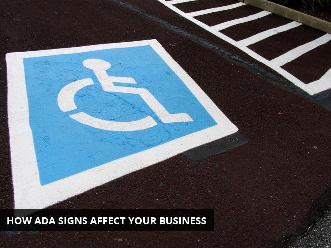 How ADA signs affect your business""