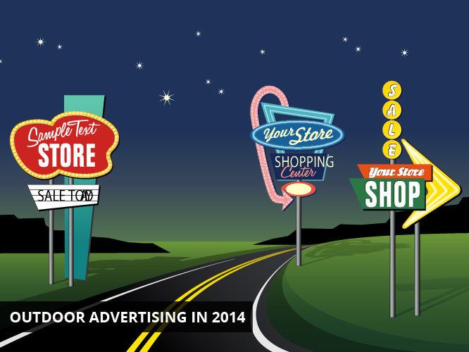 Outdoor Advertising in 2014