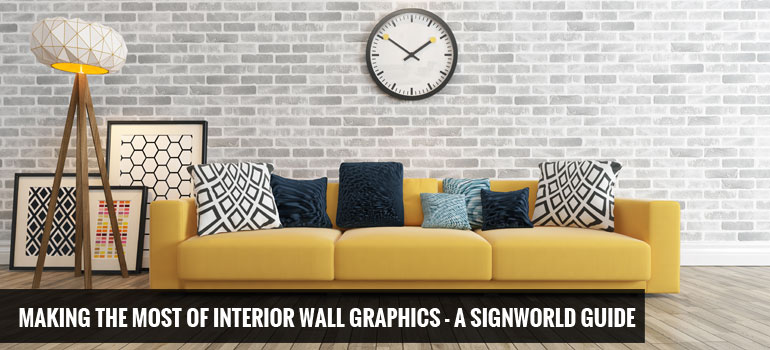 Making the Most of Interior Wall Graphics - A Signworld Guide
