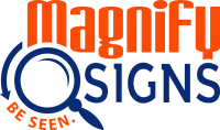 magnify sign