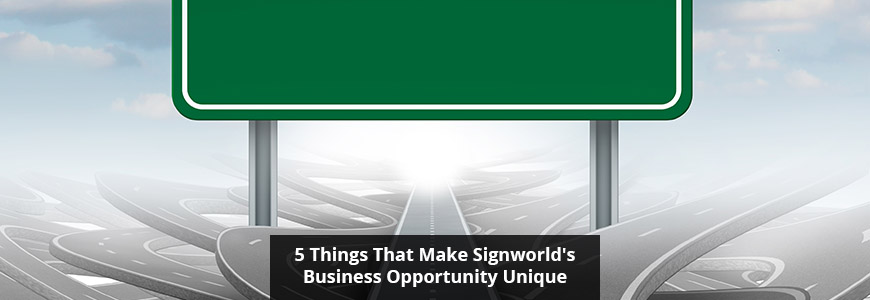 Signworld's Business Opportunity