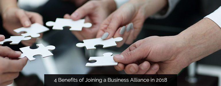 4 Benefits of Joining a Business Alliance in 2018