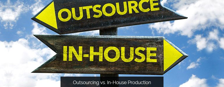 Sign Shop Strategy: Outsourcing vs. In-House Production