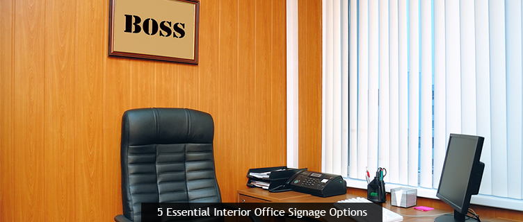 5 Essential Interior Office Signage Options