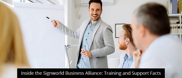 Inside the Signworld Business Alliance: Training and Support Facts