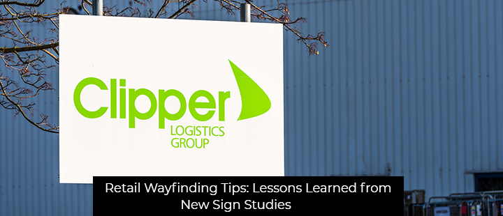 Retail Wayfinding Tips: Lessons Learned from New Sign Studies
