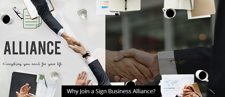 Why Join a Sign Business Alliance?