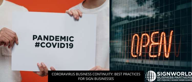Coronavirus Business Continuity: Best Practices For Sign Businesses