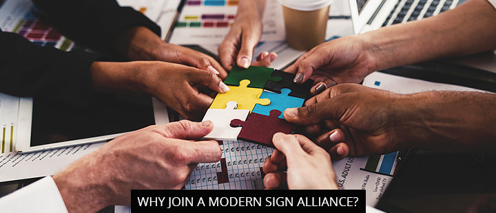 Why Join A Modern Sign Alliance?