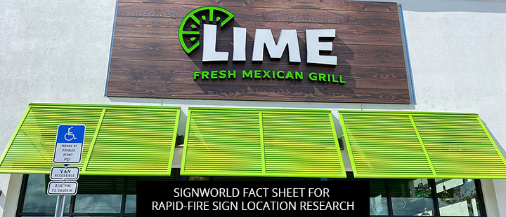 Signworld Fact Sheet for Rapid-Fire Sign Location Research