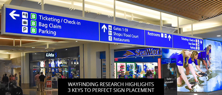 Wayfinding Research Highlights 3 Keys To Perfect Sign Placement